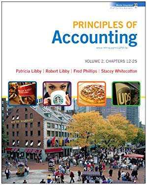 Principles of Accounting, Volume 2, Chapters 12-25 [With Workbook] 9780077370442