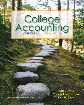College Accounting, Chapters 1-14 [With Access Code] 9780077398187