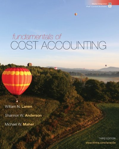 Fundamentals of Cost Accounting [With Access Code] 9780077398194