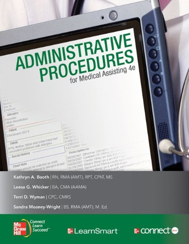 Administrative Procedures for Medical Assisting [With CDROM] 9780077399986