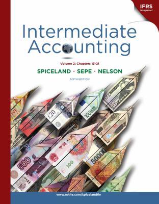 Loose-Leaf Intermediate Accounting, Volume 2 (Ch.13-21) 9780077403607