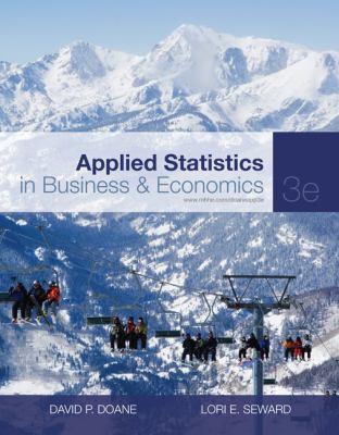Applied Statistics in Business & Economics 9780077404727