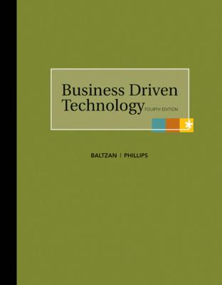 Loose-Leaf Business Driven Technology 9780077405472
