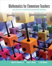 Mathematics for Elementary Teachers: An Activity Approach 12986977