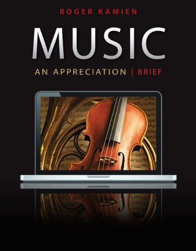 Music: Brief: An Appreciation [With 5 CDs] 9780077433536