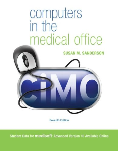 Computers in the Medical Office [With CDROM] 9780077471910