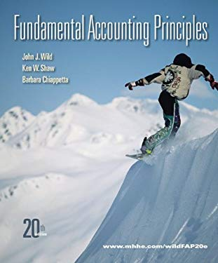 Fundamental Accounting Principles [With Access Code] 9780077505998