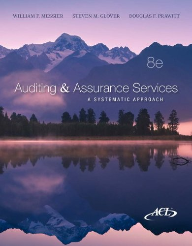 Auditing & Assurance Services: A Systematic Approach [With CDROM]