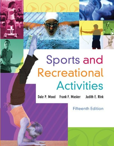 Sports and Recreational Activities - 15th Edition
