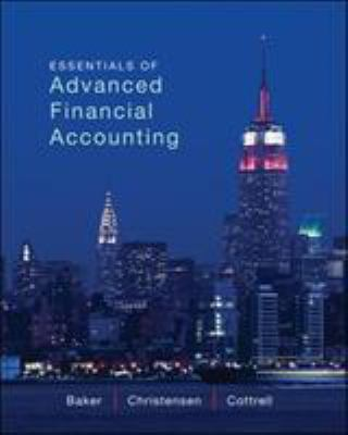 Essentials of Advanced Financial Accounting 9780078025648
