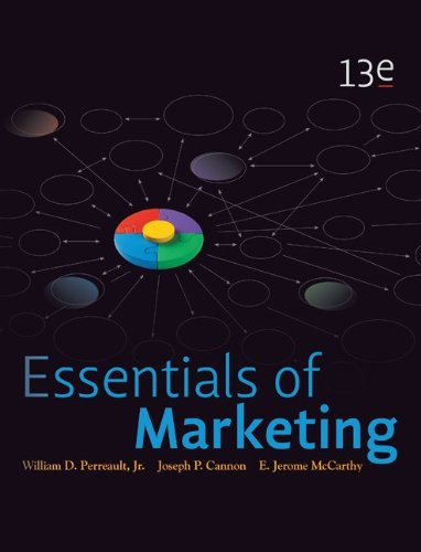 Essentials of Marketing: A Marketing Strategy Planning Approach 9780078028885