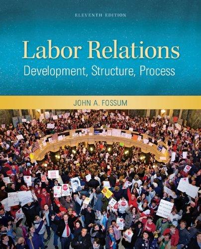 Labor Relations: Development, Structure, Process