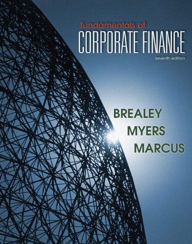 Fundamentals of Corporate Finance 9780078034640