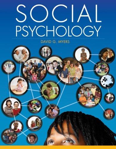 Social Psychology 9780078035296