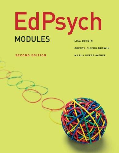 EdPsych: Modules 9780078097867