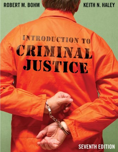 Introduction to Criminal Justice 9780078111532