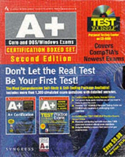 A+ Certification Boxed Set [With CDROM] 9780072121384