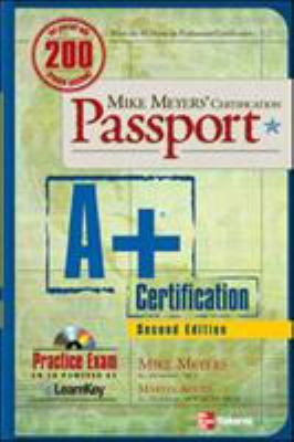 A+ Certification [With CDROM] 9780072229141