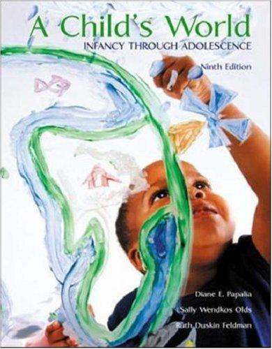 A Child's World: Infancy Through Adolescence with Making the Grade CD ROM 9780072488920