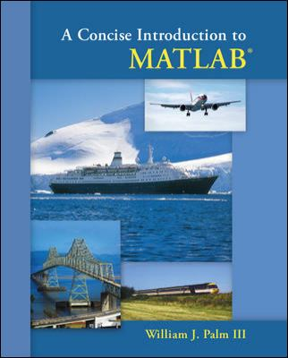 A Concise Introduction to MATLAB 9780073385839