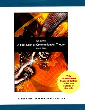 A First Look at Communication Theory. Em Griffin 9780071287944