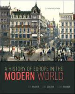 A History of Europe in the Modern World 9780073385549