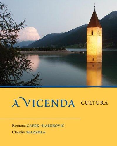 A Vicenda: Cultura 9780073274355
