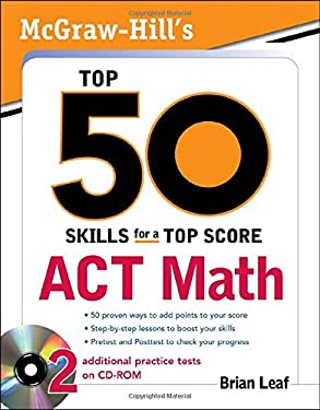 ACT Math [With CDROM] 9780071613767