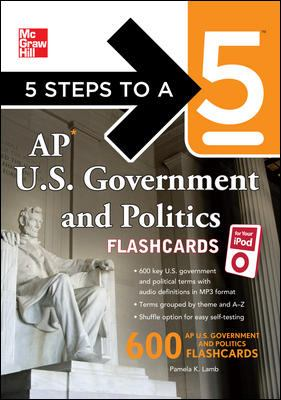 AP U.S. Government and Politics Flashcards 9780071700962