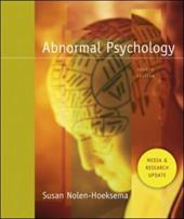 Abnormal Psychology: Media and Research Update [With CDROM]