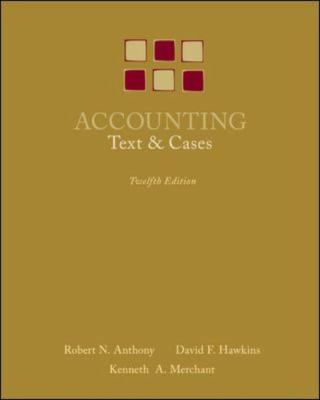 Accounting: Texts and Cases 9780073100913