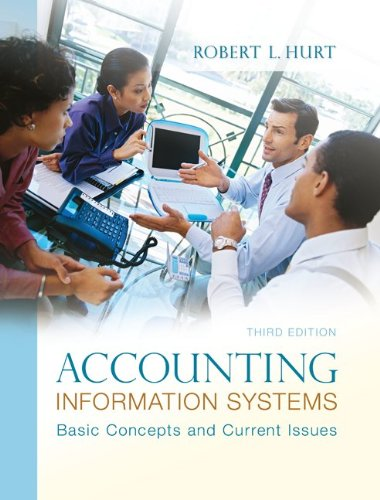 Accounting Information Systems 9780078025334