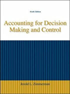 Accounting for Decision Making and Control 9780073379487