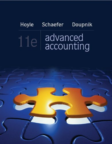Advanced Accounting 9780078025402