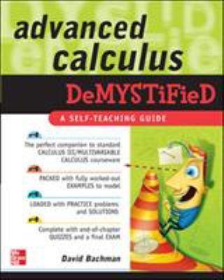 Advanced Calculus Demystified 9780071481212