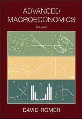Advanced Macroeconomics 9780072877304