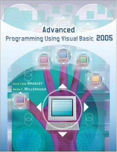 Advanced Programming Using Visual Basic.Net 9780073517179