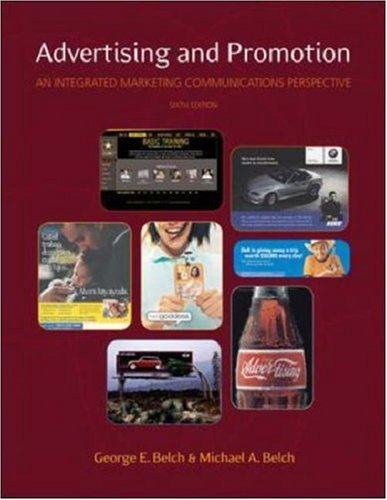 Advertising and Promotion: An Integrated Marketing Communications Perspective 9780072866148