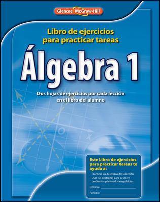 Algebra 1: Libro de Ejercicios Para Practicar Tests 9780078908408