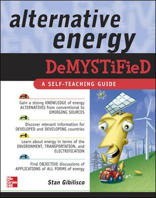 Alternative Energy Demystified 9780071475549