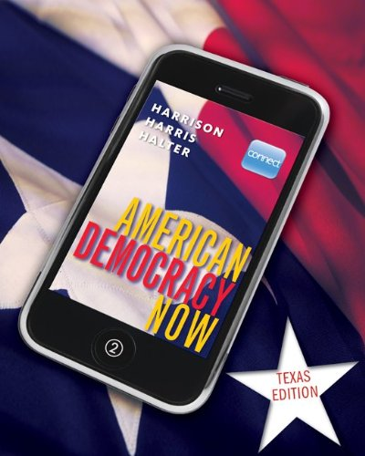 American Democracy Now Texas Edition 9780077342142
