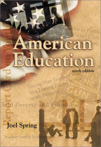 American Education 9780072295696