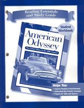 American Odyssey Reading Essentials and Study Guide Student Workbook: The United States in the 20th Century