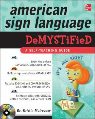 American Sign Language Demystified [With DVD] 9780071601375