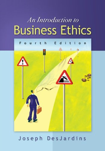 joseph desjardins business ethics book summary Note that our website does not store the book itself,  buy an introduction to business ethics 5 by joseph r desjardins (isbn: critical analysis and.