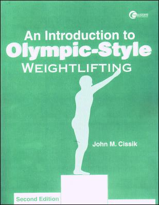 Lsc an Introduction to Olympic-Style Weightlifting 9780070434882