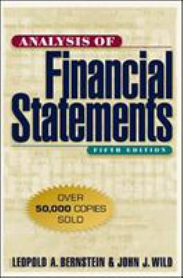 Analysis of Financial Statements 9780070945043