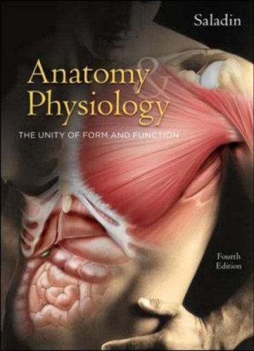 Anatomy & Physiology: The Unity of Form and Function 9780073228044