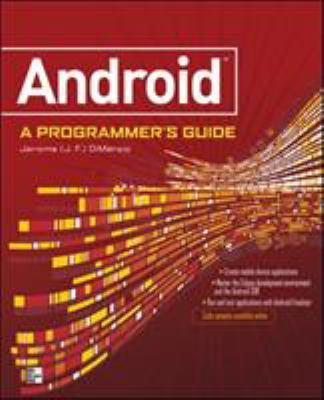 Android: A Programmer's Guide 9780071599887