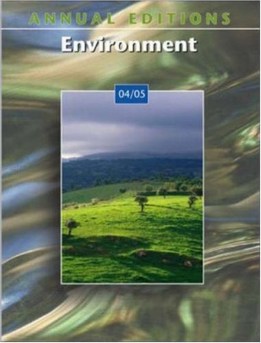 Annual Editions: Environment 04/05 9780072861471